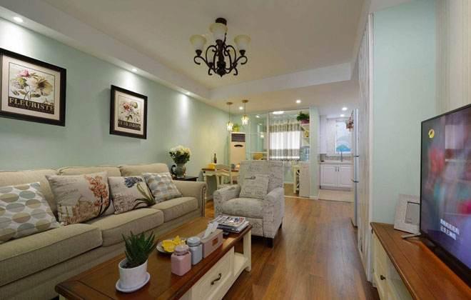 50平米二居室厨房79