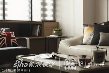 杨子军88方简约两居室装修案例42