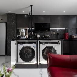 小户型也可以拥有炫酷的全黑色厨房_3763074