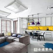 扬州金德装饰承接:家庭、办公、别墅、商铺二手房翻新_5