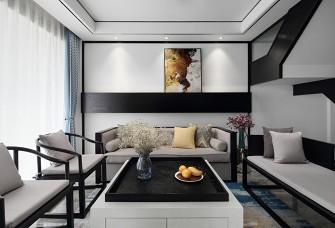 130平米三室兩廳兩衛中式風格