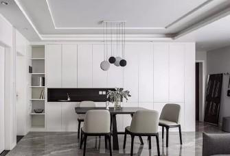 117平现代北欧三室, 书房功能塞进客厅