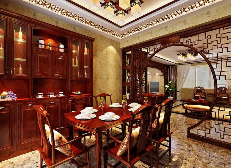 中式簡約風格三居室