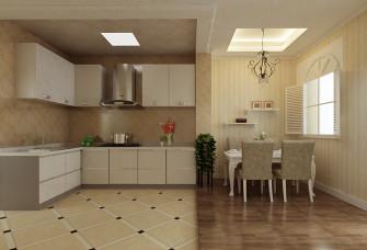 现代简约的厨房