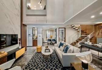 90平米融匯·現代復式樣板房
