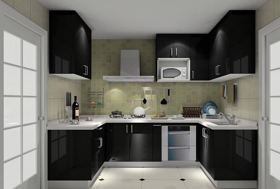 50平米二居室厨房12