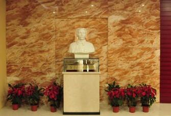 武漢市五醫院的白求恩紀念館