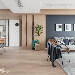 禧悅北歐四居客廳設計圖