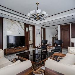 轻奢中式客厅吊灯图片
