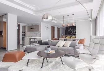 120平方现代简约风格完美之家