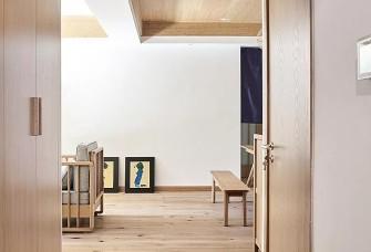 130平日式風格,做開放式榻榻米休閑室