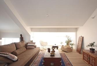 复式阁楼设计-日式原木风