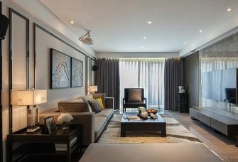 100平米現代風三居室