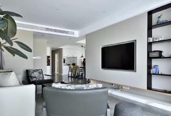 188㎡现代简约,素色的空间,优雅的气质