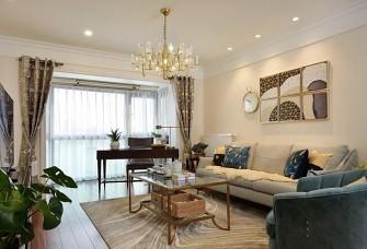135平方美式轻奢风格三居室