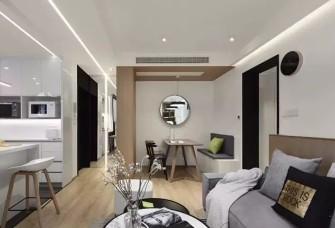 78平现代,简洁大方又舒适的家