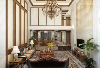 合肥内森庄园750平米别墅美式风格