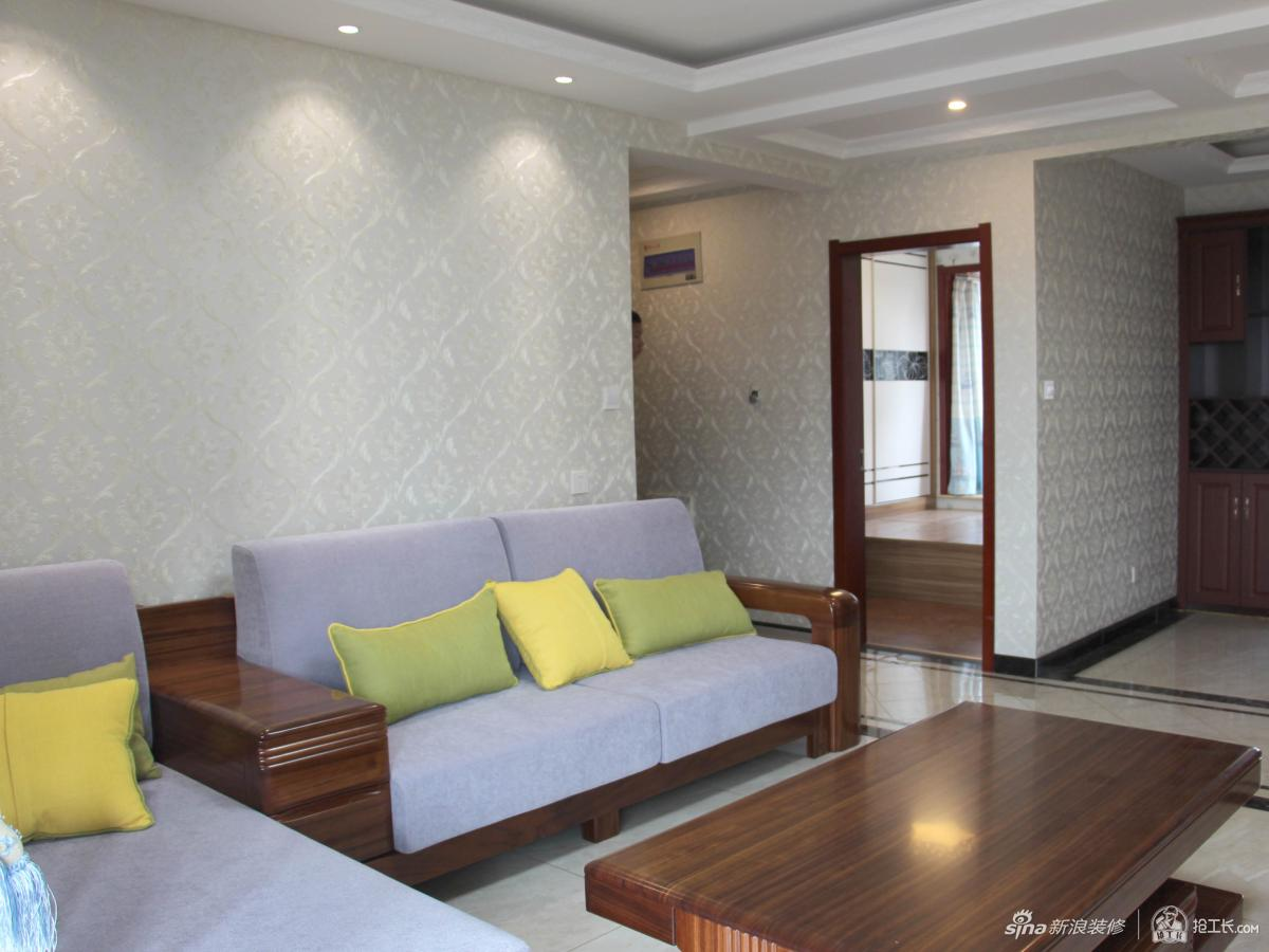 90㎡新中式三居室,中国式含蓄75