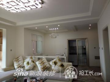 暖色客厅更具温馨7