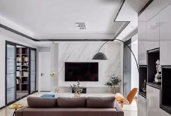 108現代簡約三室 打通陽臺擴大客廳