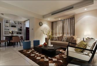 現代簡約110平米二居室