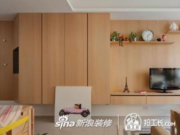 55平现代简约一居室28