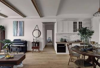 北欧文艺清新范,客厅沙发围放氛围好!