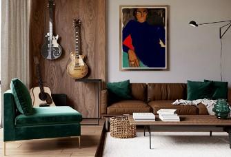 Rudenko设计--50平米公寓