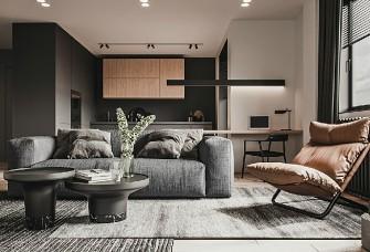 原木色現代簡約家居設計