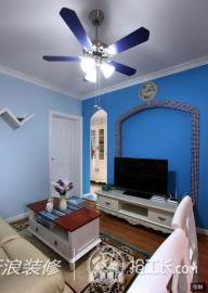 55平地中海风格一居室86