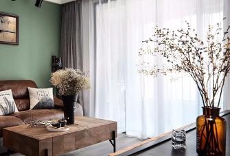 北欧工业风,电视墙设计太惊艳!