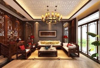 纯中式风格别墅