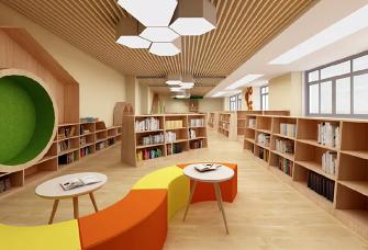243方工裝北歐風圖書館