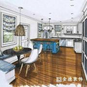 扬州金德装饰承接:家庭、办公、别墅、商铺二手房翻新_1