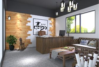 王总厂房办公室园林设计