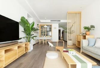 120㎡日式新房,柵欄隔斷讓家里變的更美