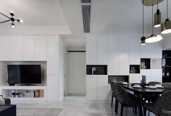 现代简约两室 电视墙与餐边柜好用