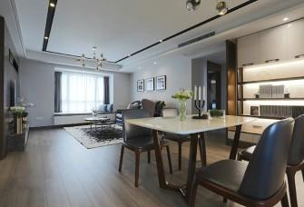 142㎡现代风,时尚简约的顶楼住宅