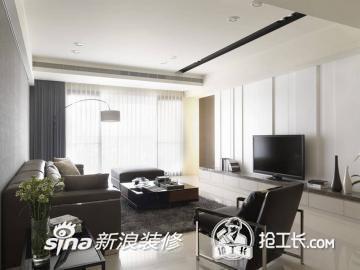 新灰度创造客厅现代感34
