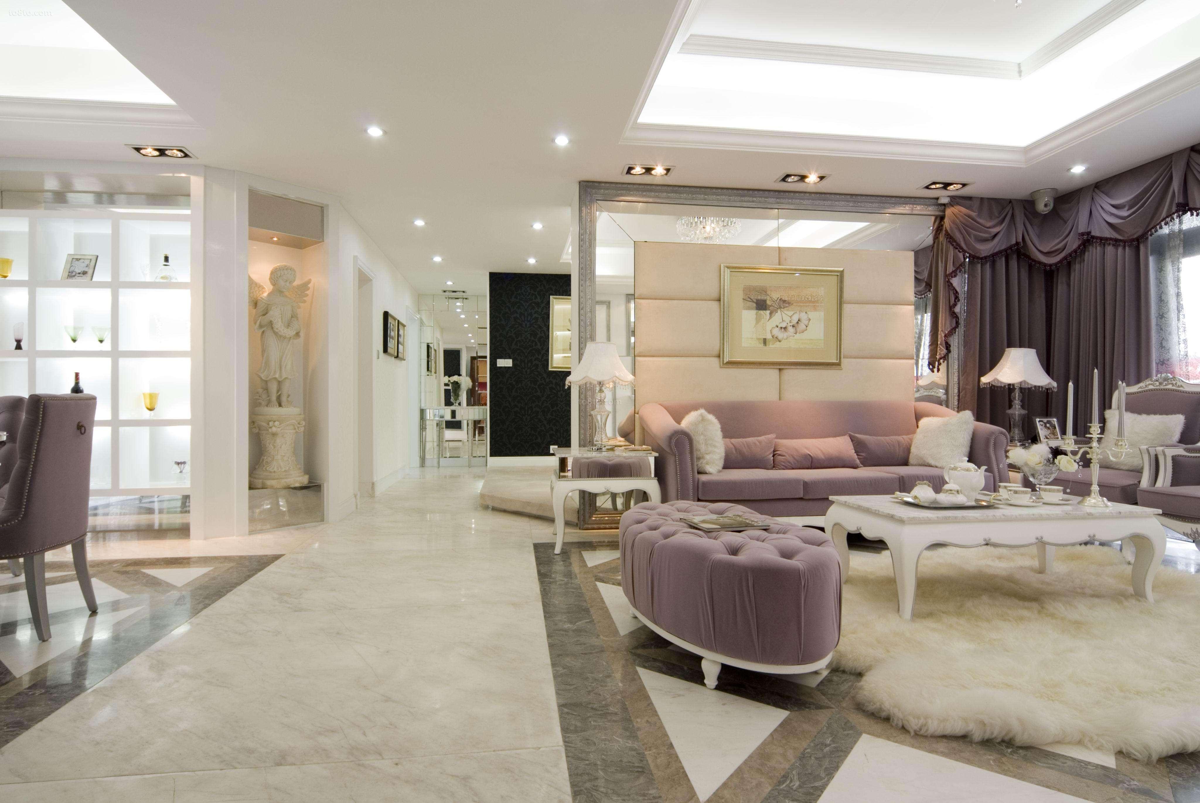 时尚简约客厅设计11