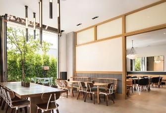 餐饮空间类 阳光餐厅设计