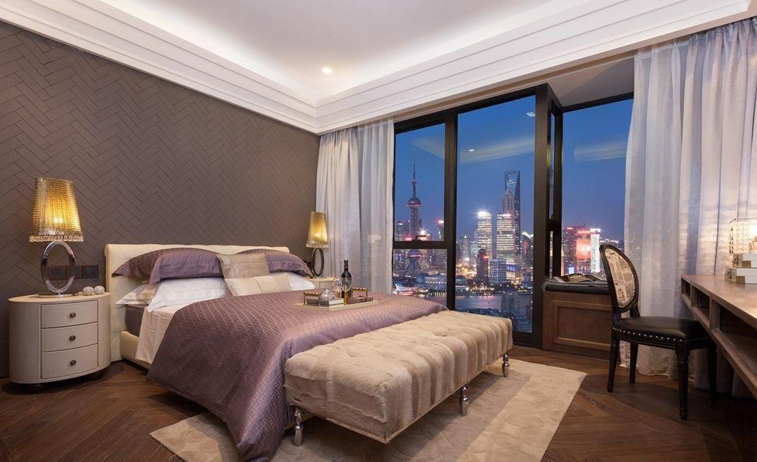 中式古典風臥室41