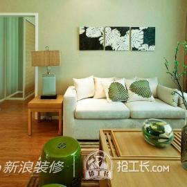 陈波天鸿万象新天2居室装修案例83