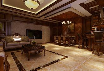 三室二廳復式 280平 簡歐風格