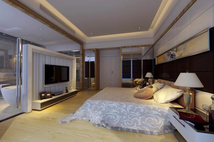 116方美式復式臥室60