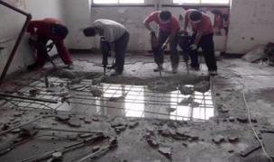 专业砸墙、商场撤柜货架拆除、店面拆除吊顶、垃圾清运_2