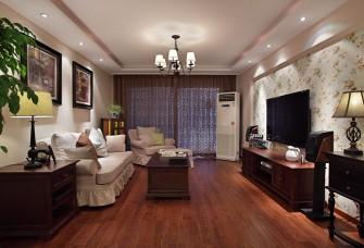 140平米美式风格婚房设计