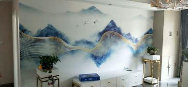 壁纸壁画壁布施工,欢迎来电_6