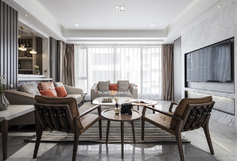 80平米現代風格——家的溫馨