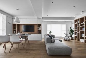 110平原木色日式小清新家